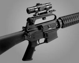 Colt AR-15/16 See-Thru Carry Handle Mount