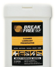 "CLP Treated Weapon Wipes, 20 sheets (6 3/4"" x 3"")"