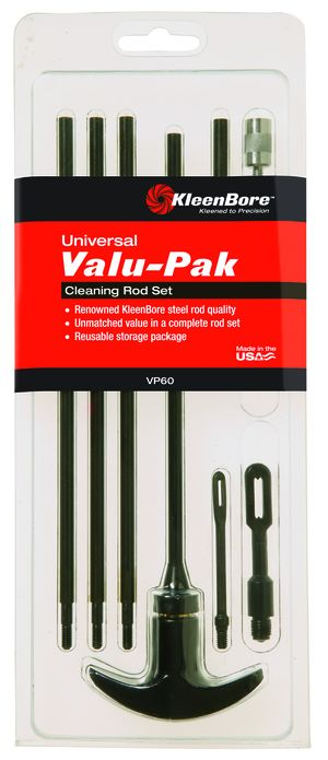 Valu-Pak Multi-Sectional Cleaning Rod Sets